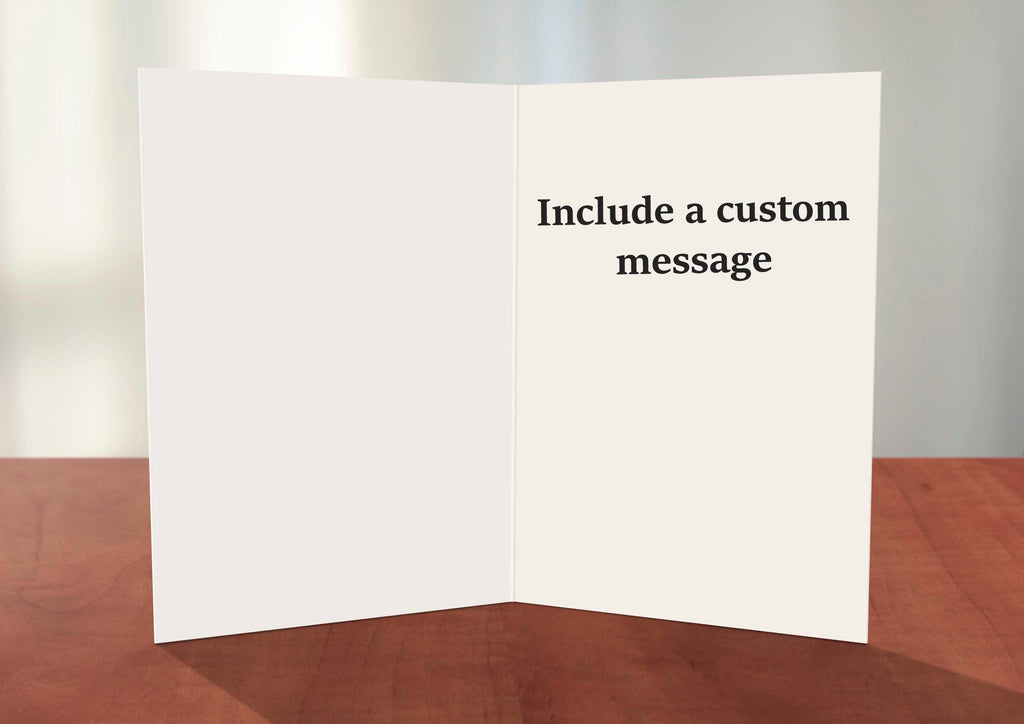Add a custom message to a greeting card by Deidre Wicks