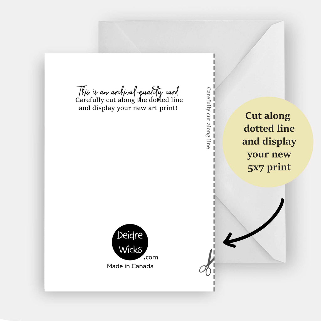 Sassy Cat Magazine Greeting Card