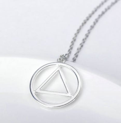 Unisex Deathly Hallow Necklace