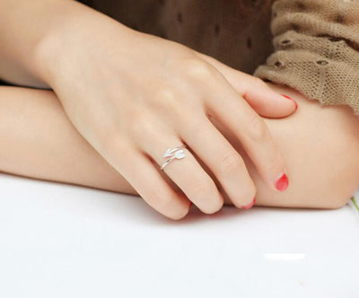 women Adjustable Engagement Ring