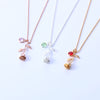 Rose Flower Beauty Necklace