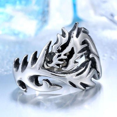 Gothic Wholes Dragon Ring