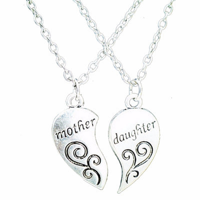 Silver Plated Mother Love Necklace