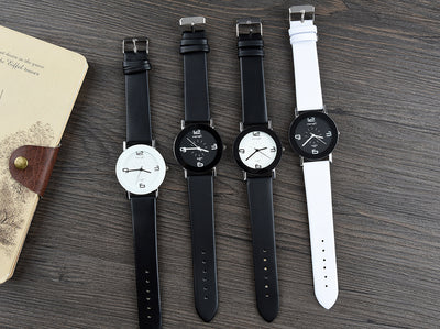 Luxury High quality Leather Wristwatch