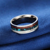 Vintage Titanium Wood Ring