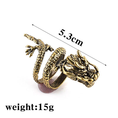 Stylish Domineering Dragon Ring