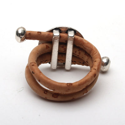 Wood Color Cork Ring