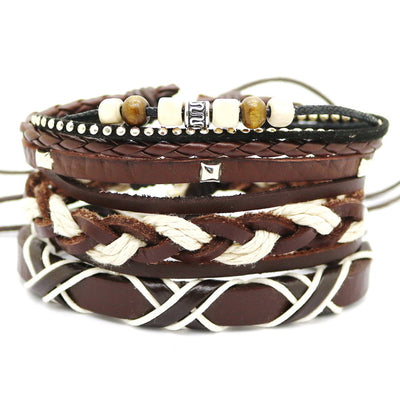Multi Layer Retro Punk Bracelet