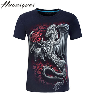 Dragon 3D Printed T-shirt
