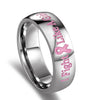 Fight Like a Girl Cancer Awareness Ring
