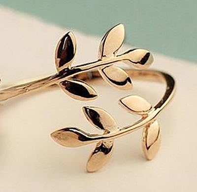 Olive Tree Charm Ring