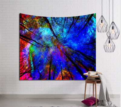 Galaxy Hanging Wall Tapestry