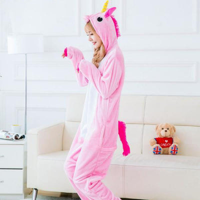 Animal Colored Unicorn Pajama