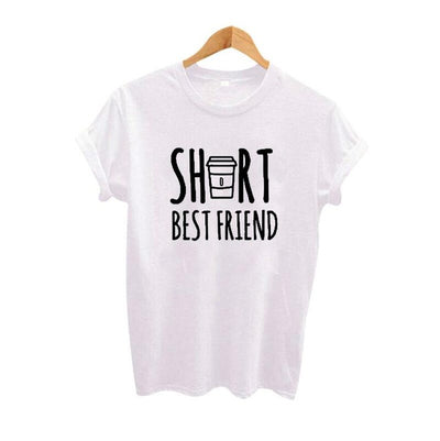 Cute BFF Letter T-Shirt