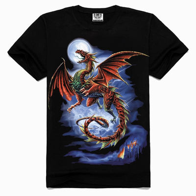Evil Dragon Black T-Shirt