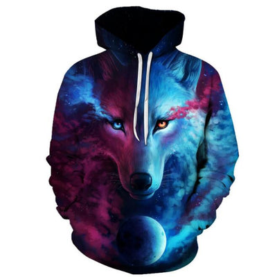 Space Galaxy Hooded Jacket