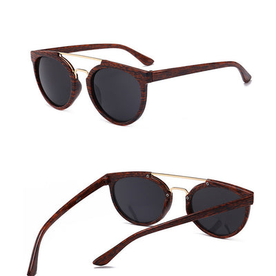 Vintage Wood Grain Sunglass