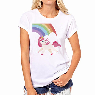 Unicorn Rainbow Panda T-Shirt