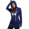 Kitty Cat Tunic Style Hoodie