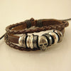 Vintage Braided Leather Bracelet