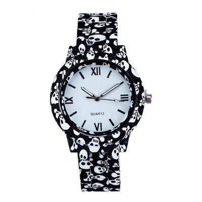 2018 Ladies Ceramic Skull Watch