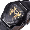 Sports Design Triangle Wristwatch