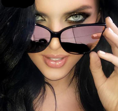Luxury Flat Cat Eye Sunglass