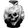 Melted Skull 3D Pullover Hoodie