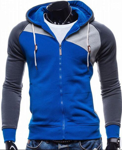 Men Leisure Zipper Hoodie