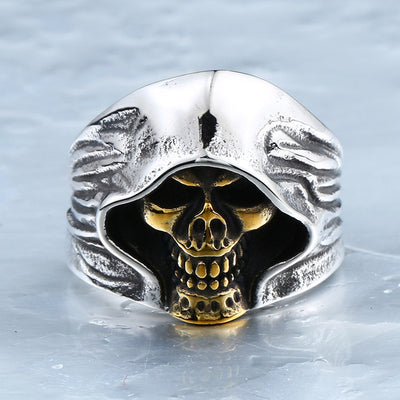Hell Death Skull Ring