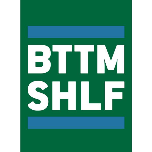 BTTM SHLF Originals Sticker