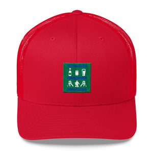BTTM SHLF Hockey Trucker Cap