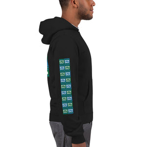 BTTM SHLF All Checked Out Zip Hoodie