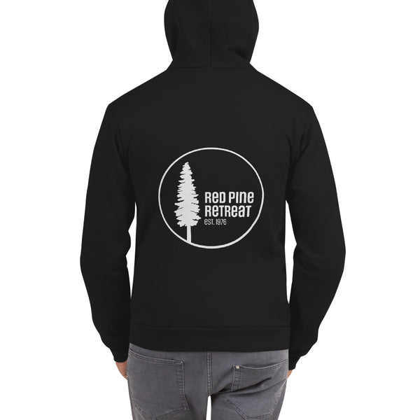 Red Pine Retreat No Frontin' Hoodie sweater