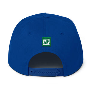 BTTM SHLF Hockey Flat Bill Cap