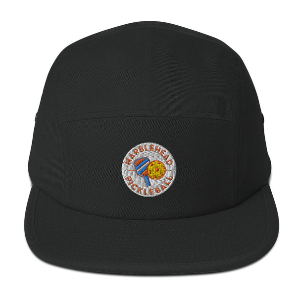 Marblehead Pickleball Five Panel Camper Hat