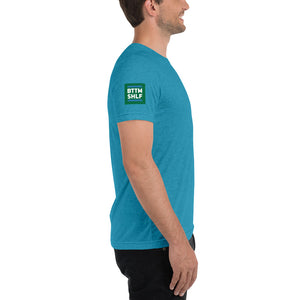 BTTM SHLF Originals M Chip-on-your-Shoulder Short Sleeve T-Shirt