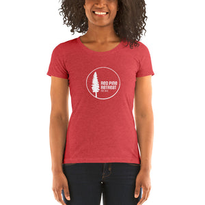 W Red Pine Retreat Short Sleeve T