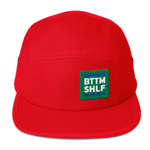 BTTM SHLF Originals Five Panel Camp Hat