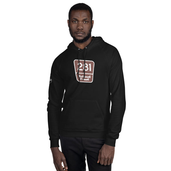 Red Pine Retreat Unisex National Forest Marker Hoodie
