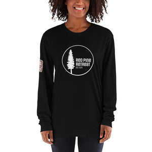 Unisex Red Pine Retreat Long Sleeve T