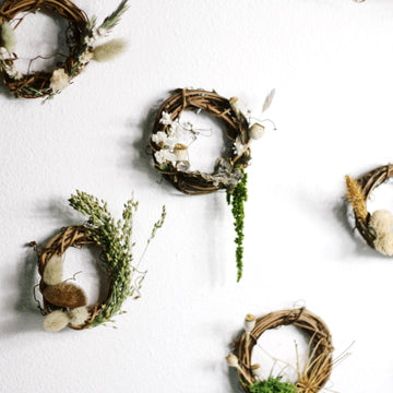 Preserved mini wreath