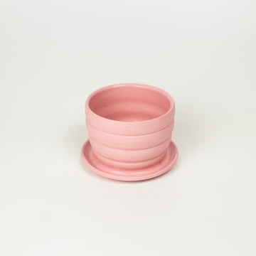 Totally Shapes - Pink Mini Planter