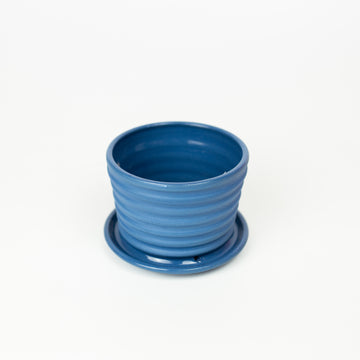 Totally Shapes - Blue Mini Planter