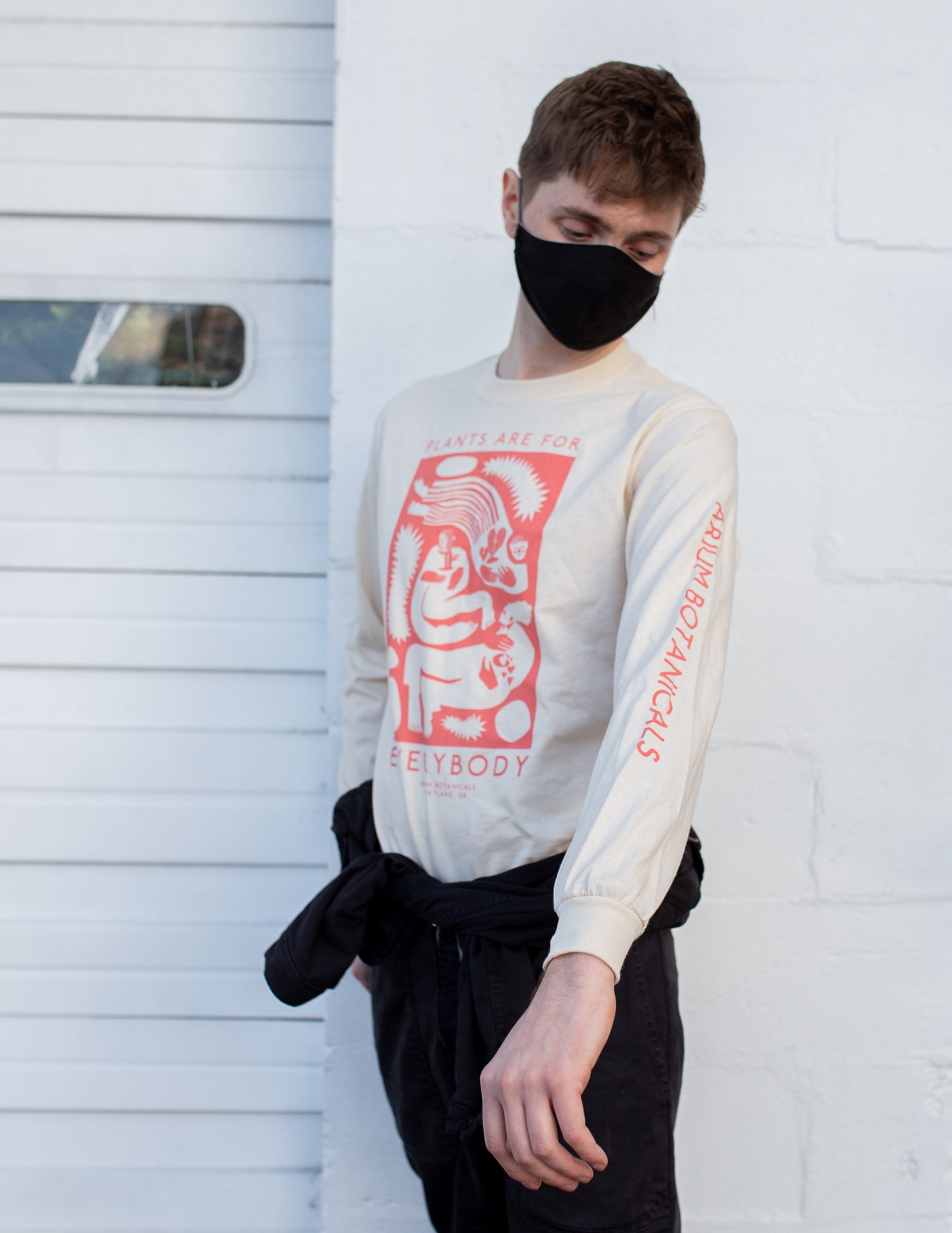 "Arium ""Plants are for Everybody"" - Long Sleeve Shirt"