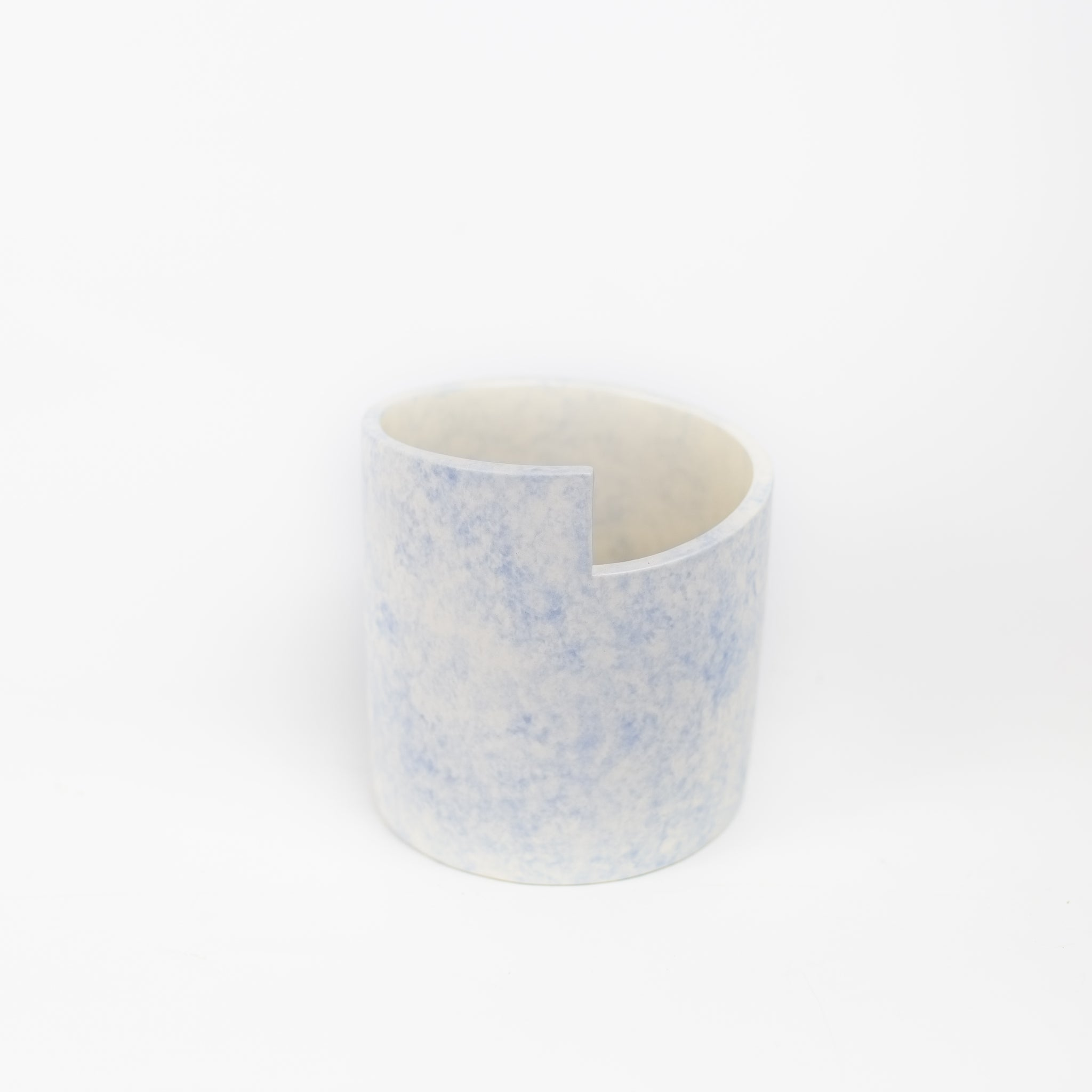 Ümlaut Ceramics - Step Planter (Blue)
