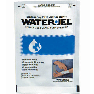 Certified Safety Manufacturing Water-Jel Sterile Burn Dressing