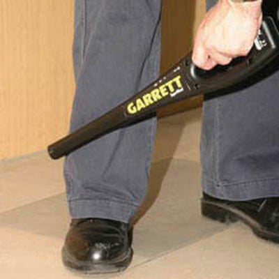 Garrett Metal Detectors Superwand Metal Detector W/ 9V Battery
