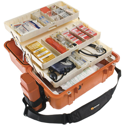 Pelican Ems Case With Organizers And Dividers, Orange