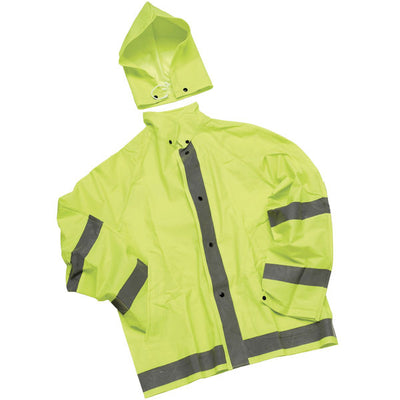 Neese Industries 3-Piece Rainsuit, Lime Green